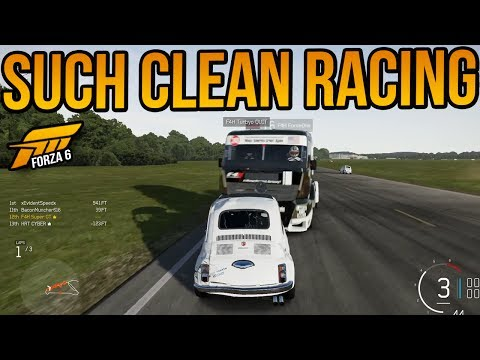 Forza 6 Beautiful Clean Racing!