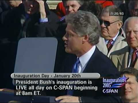 President Clinton 1993 Inaugural Address