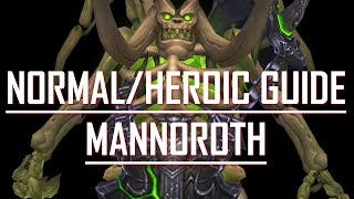 Guide to Nomral/Heroic Mannoroth - Hellfire Citadel - 6.2 Blood Death Knight POV