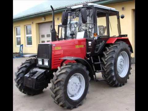 MTZ Belarus tractors
