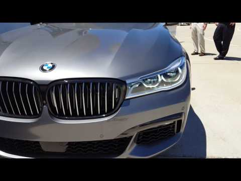 2016 BMW 750i xDrive M Sport Package Start Up and Short Tour