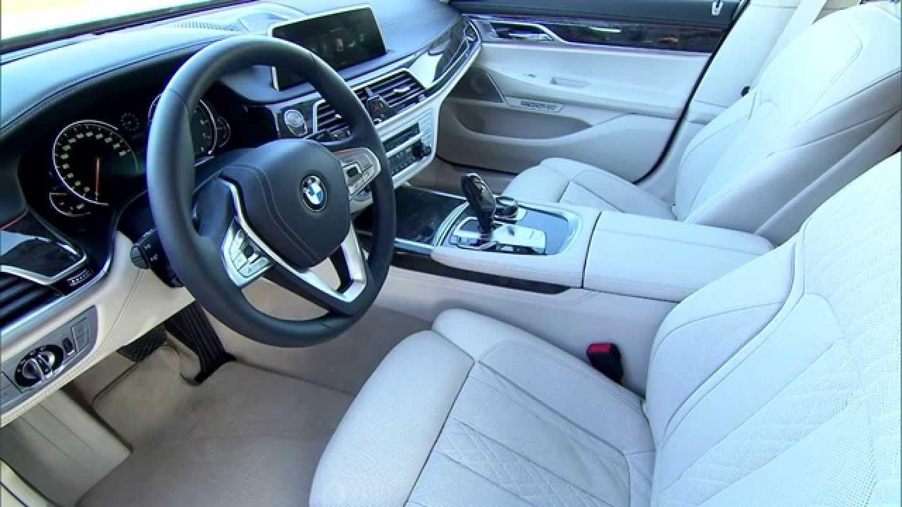 Bmw 2014 7 series interior
