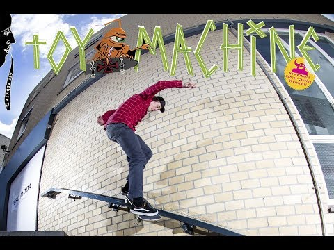 Bert Roeterdink For Toy Machine Skateboards!