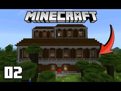 Minecraft Survival: DUPLA DE DOIS #02 - Encontramos uma MANSION e Vamos Morar Nela!!