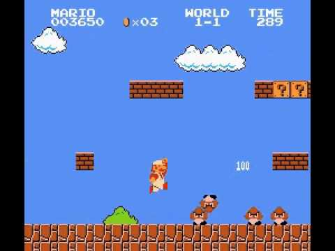 Super Mario Bros - Super Mario Bros (NES) Part 1 - User video