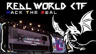 Hacking Competition in Zhengzhou China - Real World CTF Finals 2018