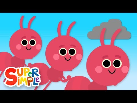 The Ants Go Marching | Kids Songs | Super Simple Songs