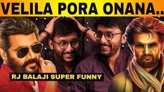 RJ Balaji Funny Interview   LKG   Priya Anand