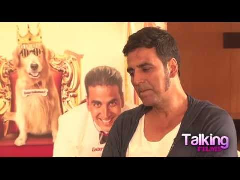Entertainment: Akshay Kumar Exclusive Interview part I
