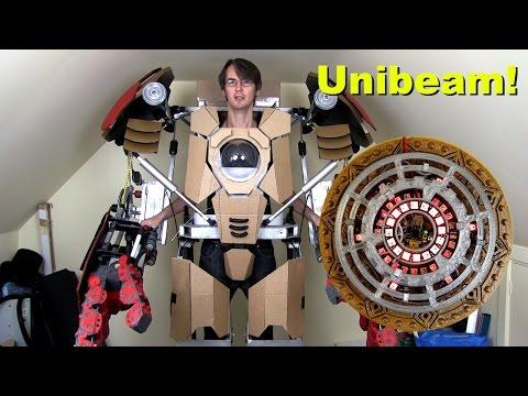XRobots - Iron Man HULKBUSTER Cosplay Part 16, Unibeam & Arc Reactor!