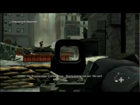 MW3 (Wii) Walkthrough Pt.1