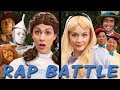 DOROTHY Vs ALICE: Princess Rap Battle (Emily Kinney, Ryan McCartan, Whitney Avalon) *explicit*