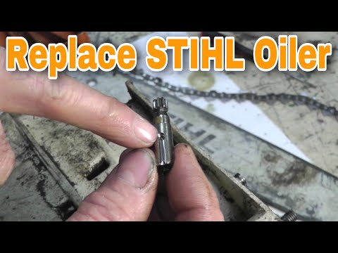 Replacing The Oiler and What To Look For On Certain Stihl Chainsaws with Taryl