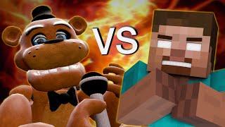 Freddy Fazbear vs Herobrine - Minecraft/GMOD Rap Battle