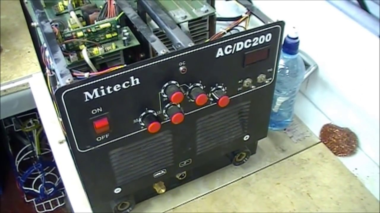 Mitech AC DC 200 welder repair - YouTube