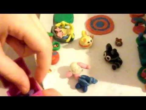 Как сделать из пластилина мяусим