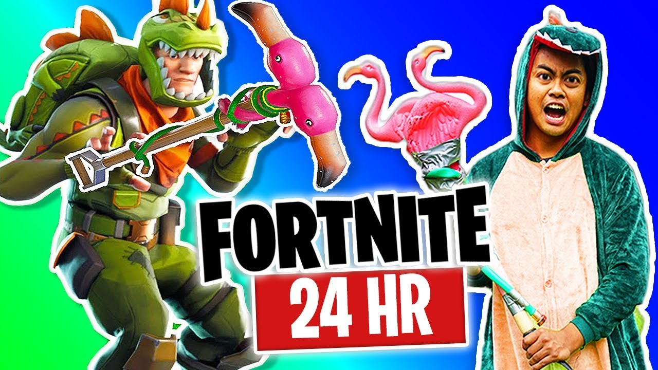 I Tried Living As My Fortnite Character For 24 Hours!