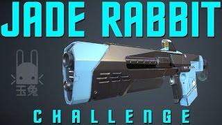 JADE RABBIT ONLY CHALLENGE!!  6 Jade Rabbits in Clash!! (FUNNY DESTINY GUN CHALLENGE)