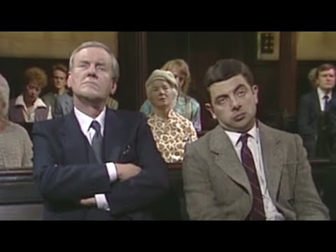 Mr. Bean - Sneezing And Snoozing In Church video