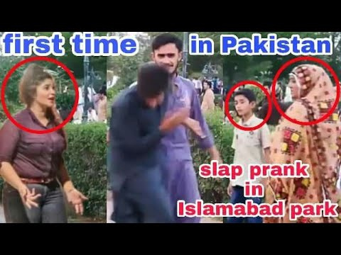 Pakistani pranks slap prank in pakistan