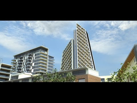Architectural Animation - Foster + Partners Ealing London Development 3D Architectural Animation