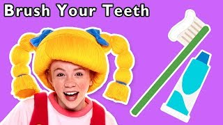Brush Your Teeth and More | HEALTHY HABITS SONG | Nursery Rhymes from Mother Goose Club!