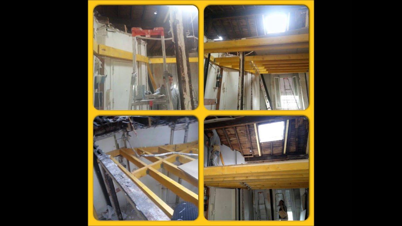 Renovation d 39 un studio de 40m2 et amenager ses combles en for Amenager jardin 40m2