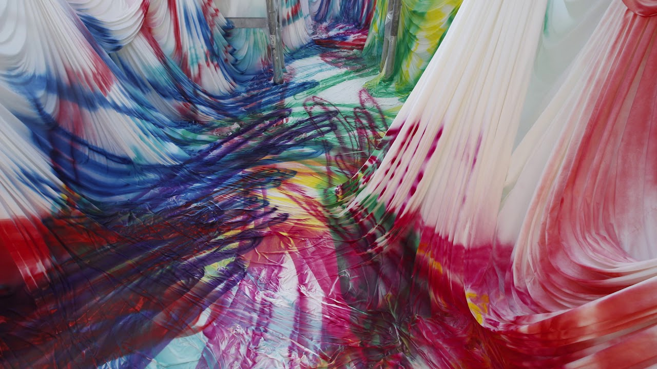 Carriageworks: Katharina Grosse - time-lapse