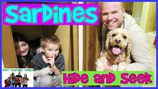 SARDINES Hide and Seek WITH OUR GRANDPARENTS! / That YouTub3 Family