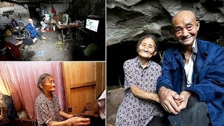 Meet the Chinese couple who have lived in a cave for 54 YEARS and refuse to move