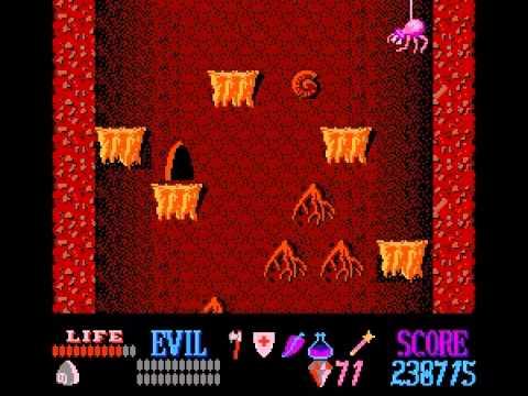 Wizards & Warriors - Wizards and Warriors NES   Playthrough - User video