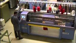 Working Principle of Flat Weft Knitting Machines