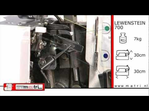 Lewenstein 700 instruction lockmachine overlocker for Machine a coudre riccar