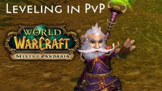 World of Warcraft: MoP 5.1 PvP Leveling - Ep. 3 Ironman for Wettnap :)