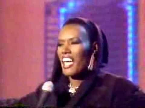 GRACE JONES - I'M NOT PERFECT (Best Live Performance 80s)