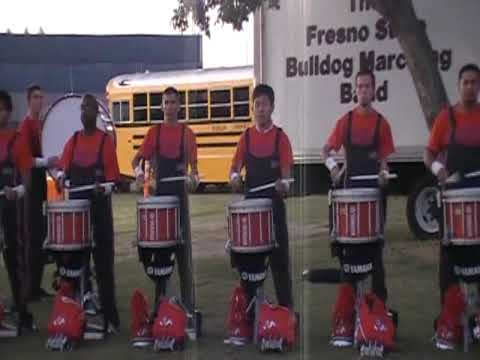 Fresno State Drumline - Open Diddle 09