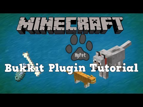 Minecraft Plugin Tutorials: MyPet 1.1.6- Ride, battle and tame ALL THE MOBS