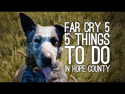 Far Cry 5 Gameplay: 5 Things to Do in Hope County (If You're a Trained Police Officer)