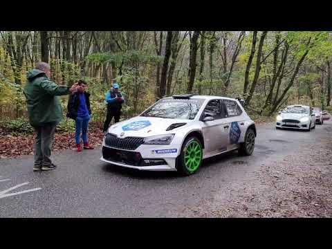 1.Rally Hungary ERC- OFFICIAL TEST