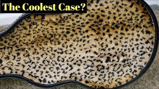 The Coolest Gibson Case? Leopard Print Billie Joe Armstrong Les Paul Jr Review