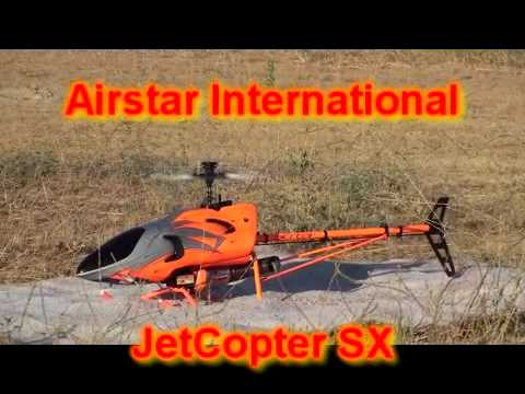 Airstar JetCopter SX RC Turbine Helicopter