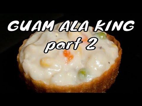 Chicken ala king - filling