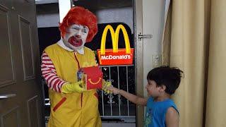 Ronald McDonald's surprise visit to Jai Bista Show | Kids Halloween Videos