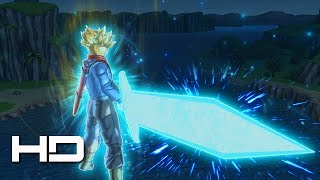 DRAGON BALL XENOVERSE 2 - Trunks Sword Of Hope Transformation Gameplay (DLC PACK 4) 1080p HD