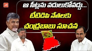 Chandrababu Gives Suggestions to L Ramana about Seat Sharing in Telangana | TTDP