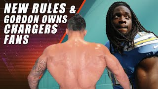 NFL Rule Changes & Melvin Gordon Owns Chargers Fans