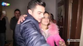 وصول رافاييل جبور الى منزله بعد خروجه من البرايم 14 - ستار اكاديمي 11 - 16/01/2016