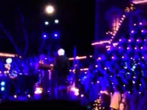 Dick Van Dyke - Chrismas Tree Lighting 2012 Disneyland