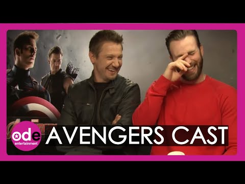 Avengers: Age of Ultron cast play 'who would you call...?' quiz