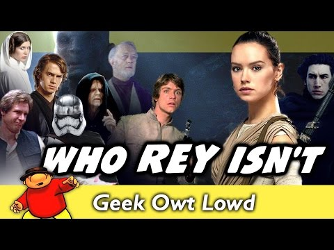 Who Rey Is NOT! - Star Wars The Force Awakens Analysis Rey's Family